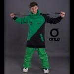 Худи Once 17 green-black
