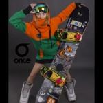 Худи Once 17 Orange_green