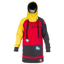 Худи Once Snow time`15-16 yellow-red-gray
