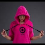 Винд-пончо Once`16 pink
