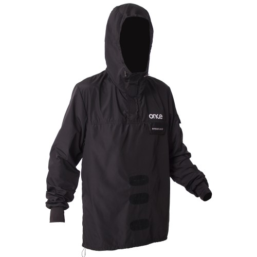 Wind hood jacket Once `17 black