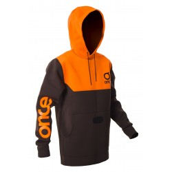 Kite neoprene hoodie Once `17 black-orange